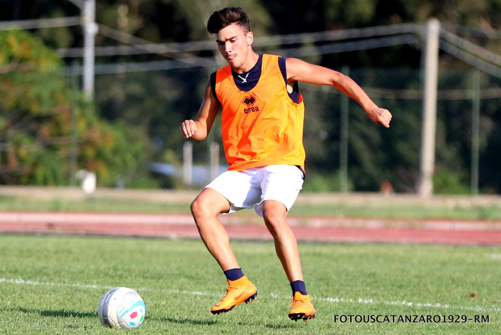 Il giovane Andrea Repossi in prestito dalla Ternana. Domani allenamento solo al pomeriggio