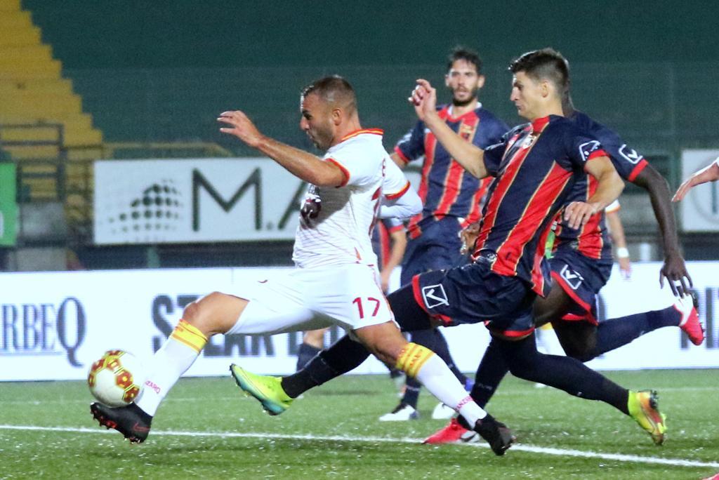 Casertana – Catanzaro 0-0, il tabellino